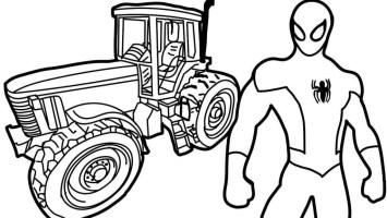 Ausmalbilder Traktor Mit Frontlader Einzigartig Druckbare ...