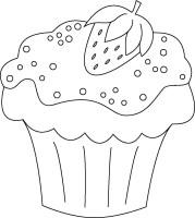 Cupcake Zum Ausmalen Neu Ausmalbilder Muffins ...