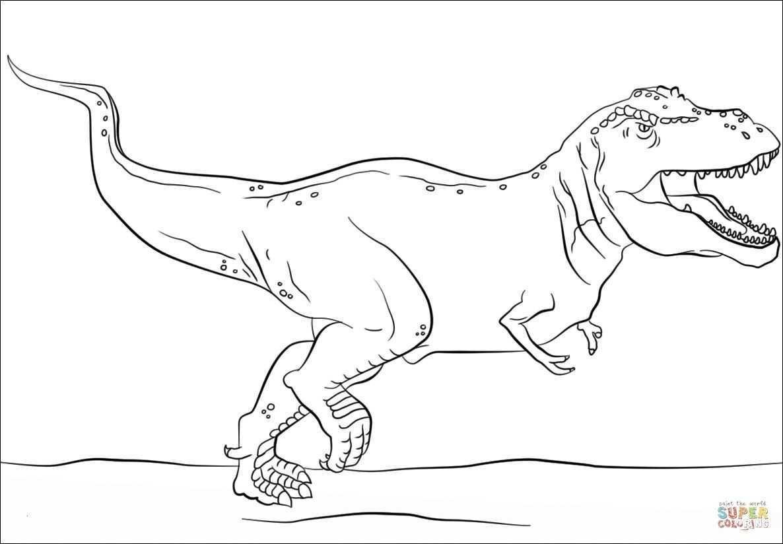 Dinosaurier Ausmalbilder Tyrannosaurus Rex Genial T Rex