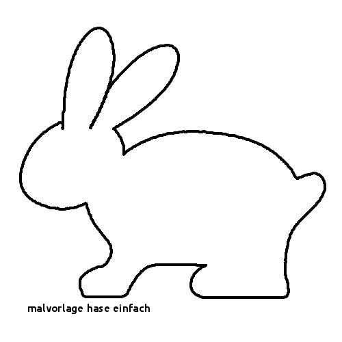 Hase Malen Vorlage Frisch Malvorlage Hase Einfach