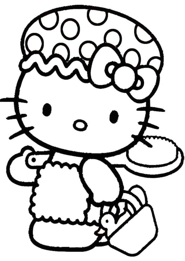 Hello Kitty Malvorlage Genial Ausmalbilder Hello Kitty