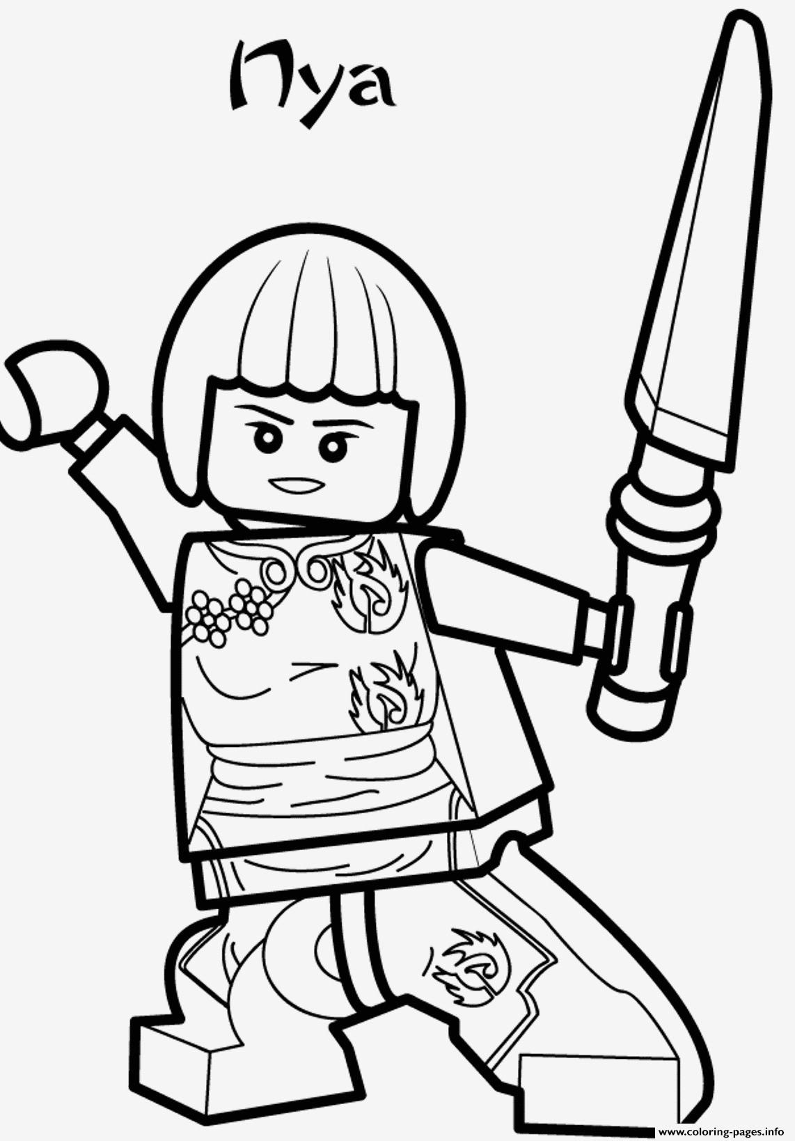 98 Einzigartig Lego Ninjago Malvorlage Bild