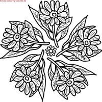 Malvorlage Blumen ornamente Das Beste Von Malvorlagen ...