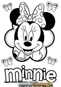 Ausmalbilder Weihnachten Minnie Maus Malvorlagen Minnie Mouse