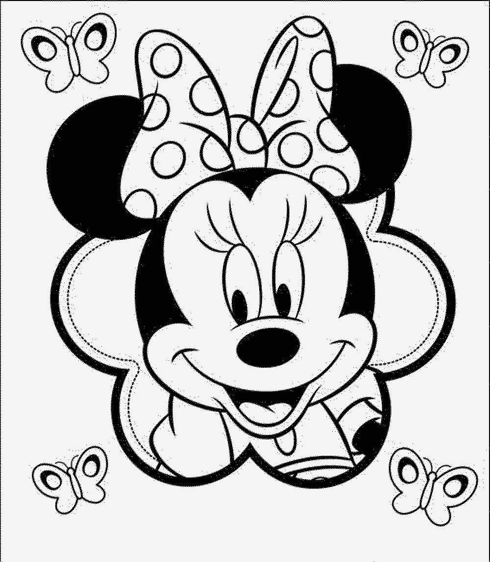 Minnie Mouse Malvorlage Frisch Baby Mickey Mouse Coloring