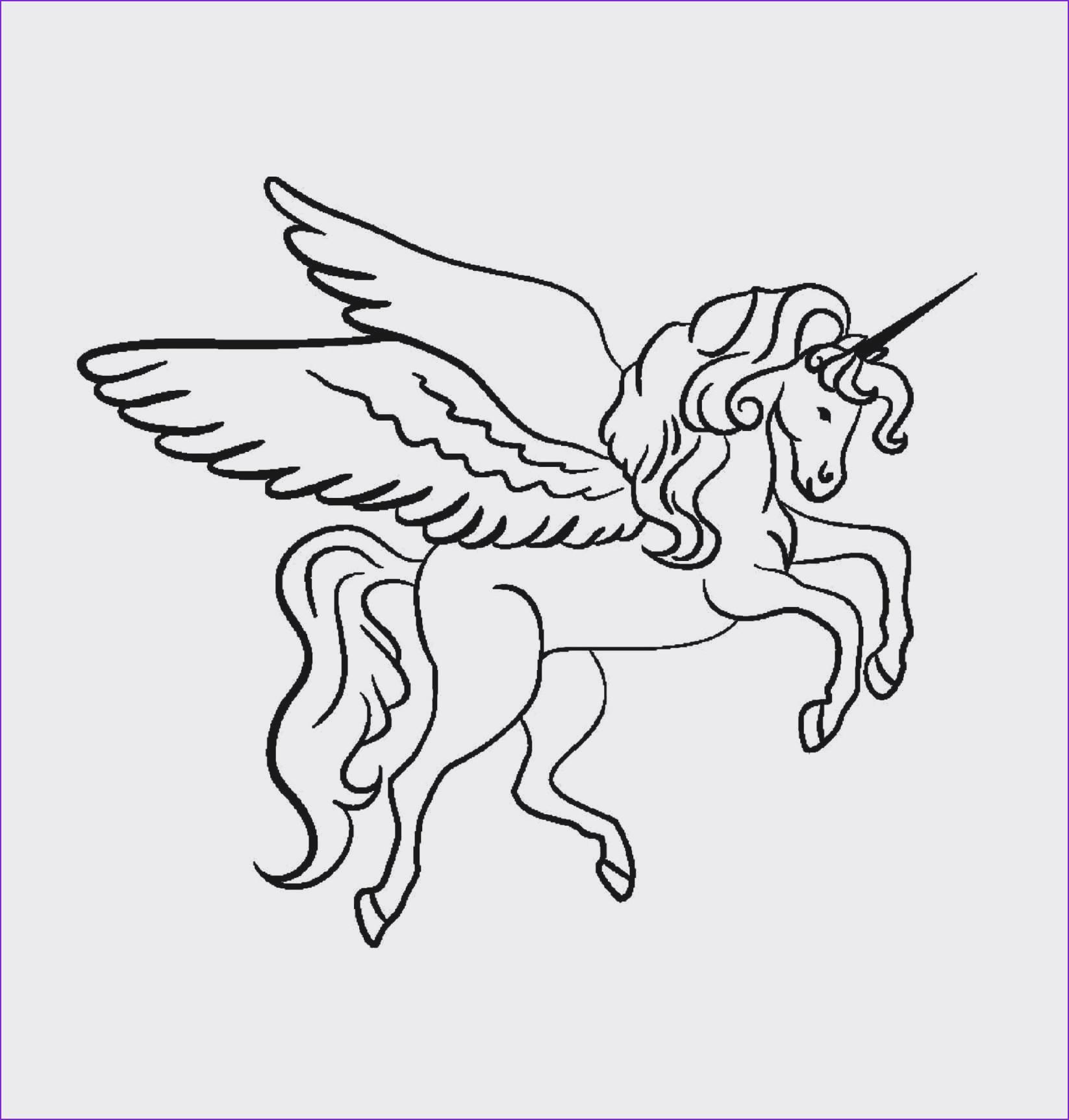 Pegasus Zum Ausmalen Das Beste Von 34 Einzigartig Unicorn