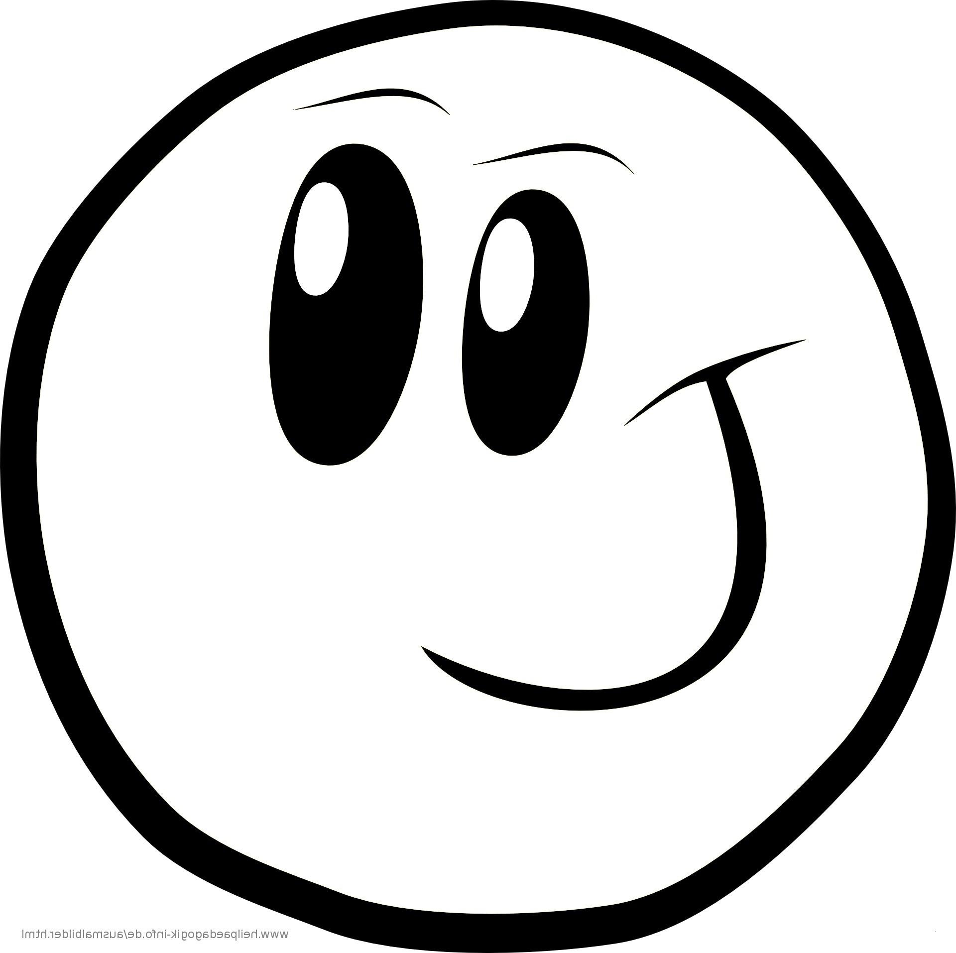 Emojis Zum Ausdrucken Und Ausmalen
