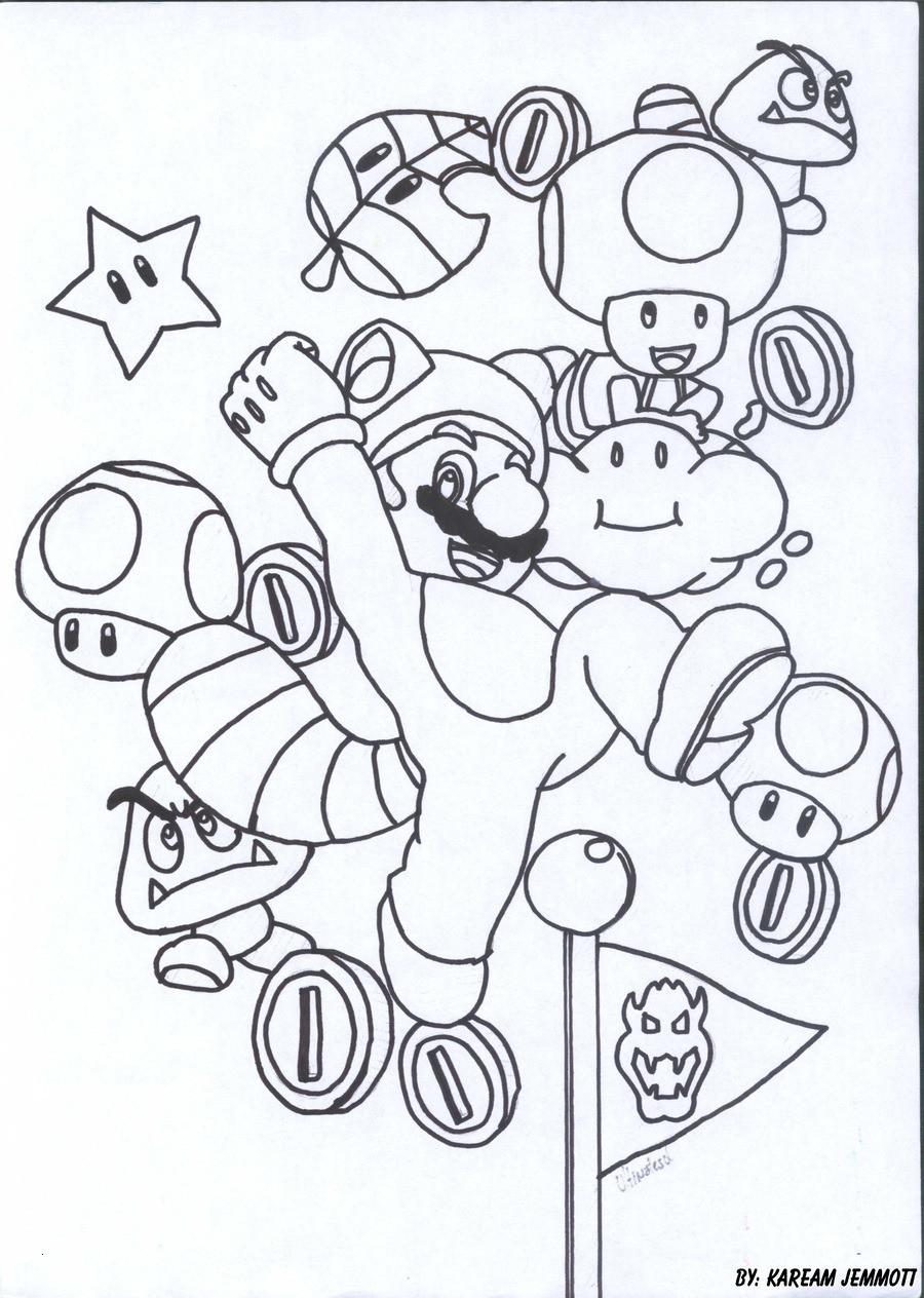 Super Mario Malvorlagen Neu Ausdruckbilder Super Mario