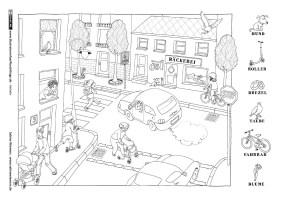 Verkehrserziehung Kindergarten Ausmalbilder Inspirierend ...