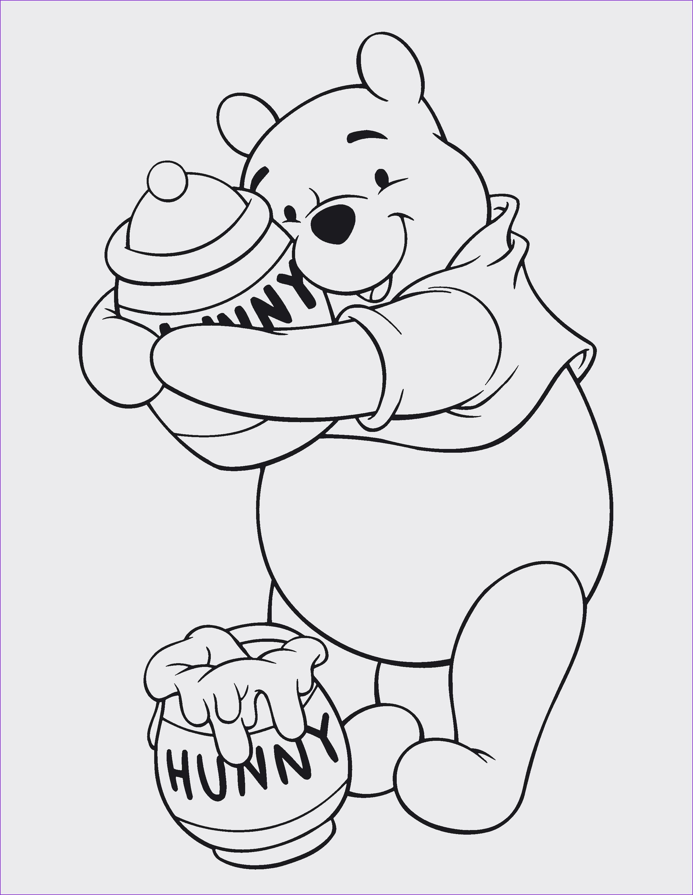 Winnie Pooh Malvorlage Inspirierend Spannende Coloring