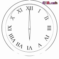 Ausmalbilder Uhr Inspirierend Ausmalbilder Kostenlos ...