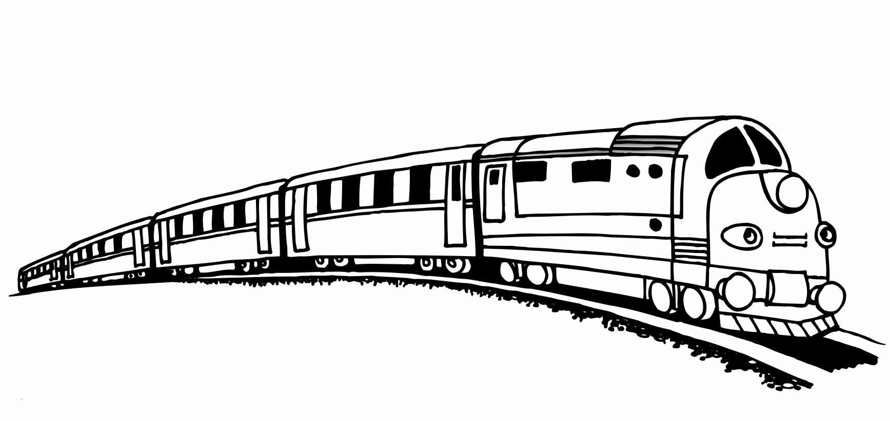 Ausmalbilder Zug Einzigartig Malvorlage Eisenbahn