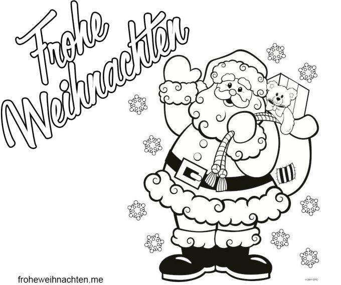 Weihnachtsstiefel Malvorlage