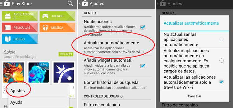 Actualizar aplicaciones com.google.process.gapps