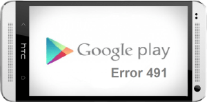 Error 491 Android