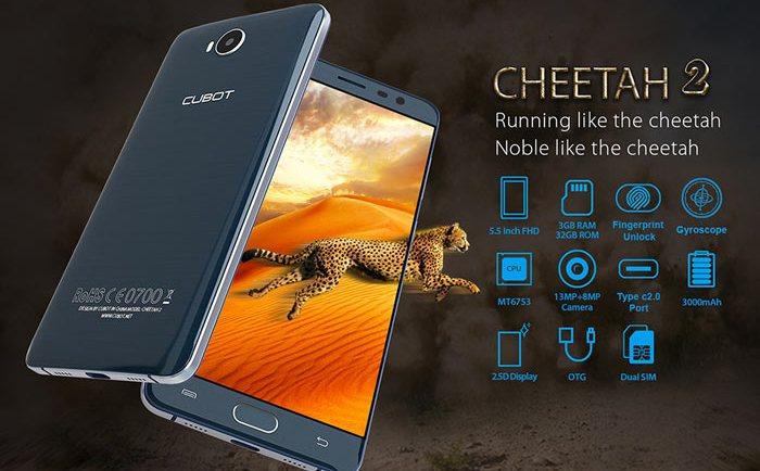 Cubot CHEETAH 2 4G Phablet