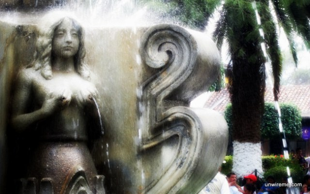 Central Park Fountain - Antigua Guatemala