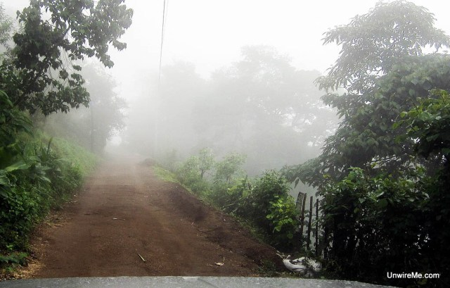 Earth Lodge road