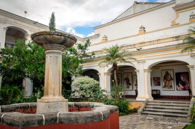 Main Courtyard, Palacio del Obispo