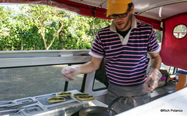 Kombi kitchen Antigua Guatemala