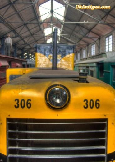 Train museum guatemala