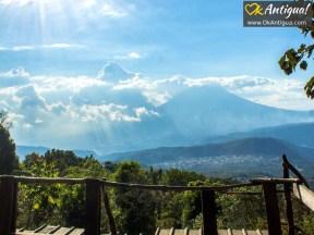 views from pacaya volcano guatemala
