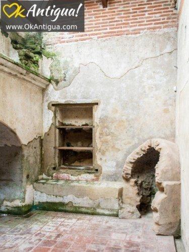 kitchen, Spanish colonial home, antigua guatemala