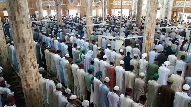 Juma tul wida hadees Masjid Gulzaar e Habeeb Allamah Kaukab Noorani Okarvi