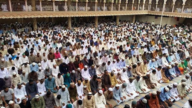 Juma tul wida dua Masjid Gulzaar e Habeeb Allamah Kaukab Noorani Okarvi
