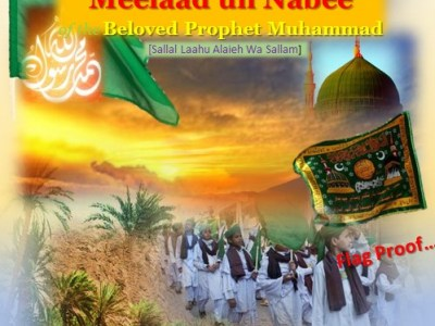 WHAT DID THE COMPANION BELIEVED-? PROOF OF HOISTING FLAG -MEELAAD UN NABI –