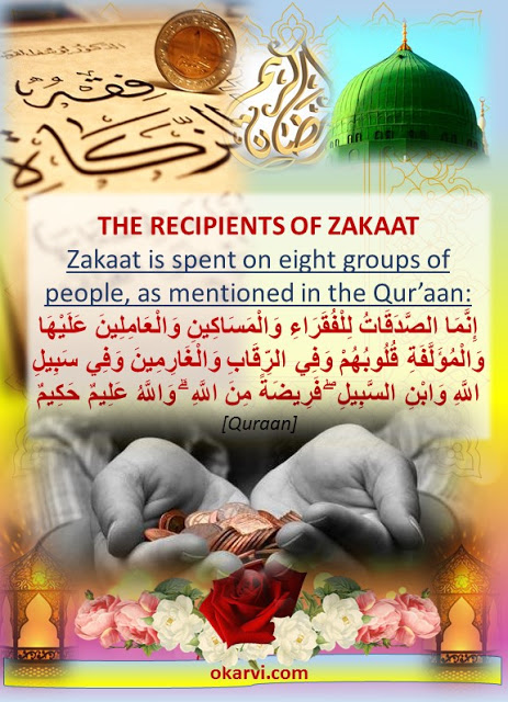 WHO ARE THE RECIPIENTS OF ZAKAAT?
