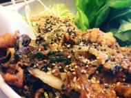 mittagstisch // buta shoga yaki // schweinegeschnetzeltes mit ingwer, zwiebeln & pilzen