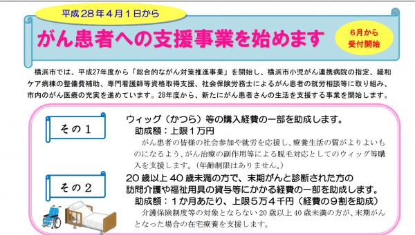 横浜市若年者の在宅ターミナルケア支援