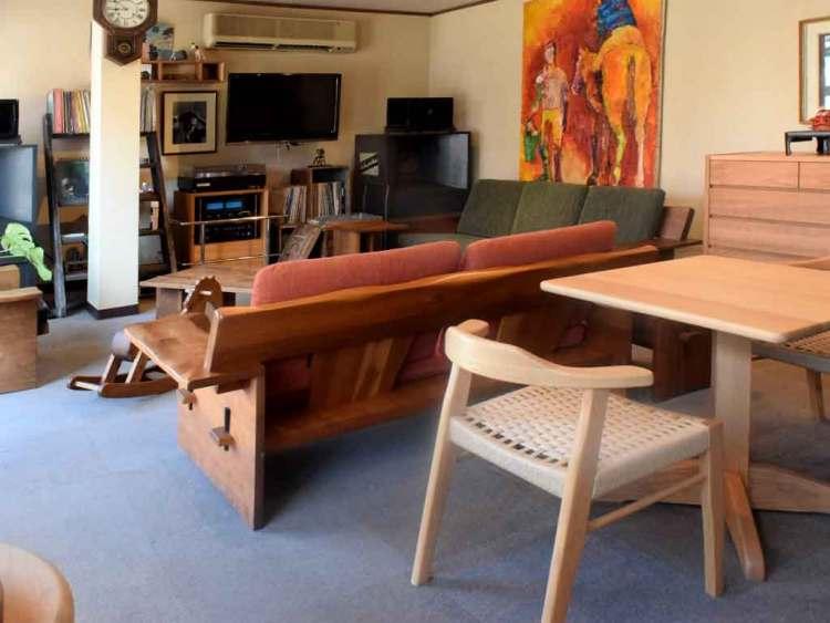 大川市でお勧めで人気の家具屋さん近藤家具の店内