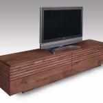 大川家具 ウォールナット材の無垢材TVボード