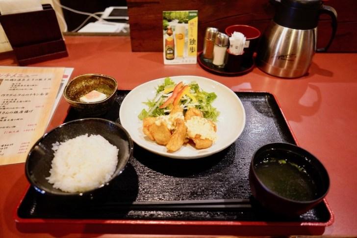 【鳥焼酒房 鷭屋】チキン南蛮の定食