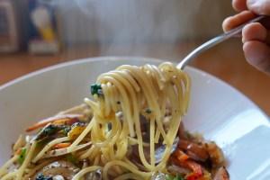【Cafe B-STYLE】パスタの麺