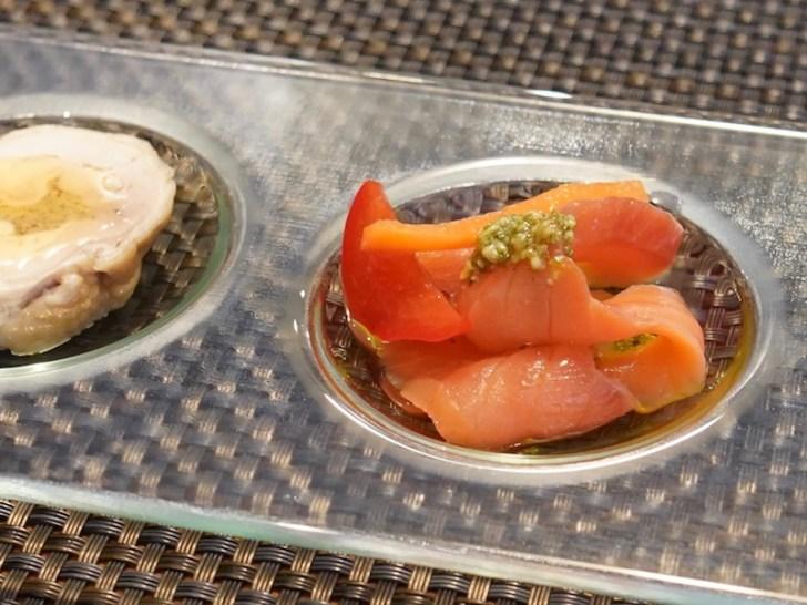 【Osteria la Ricetta】サーモンマリネ