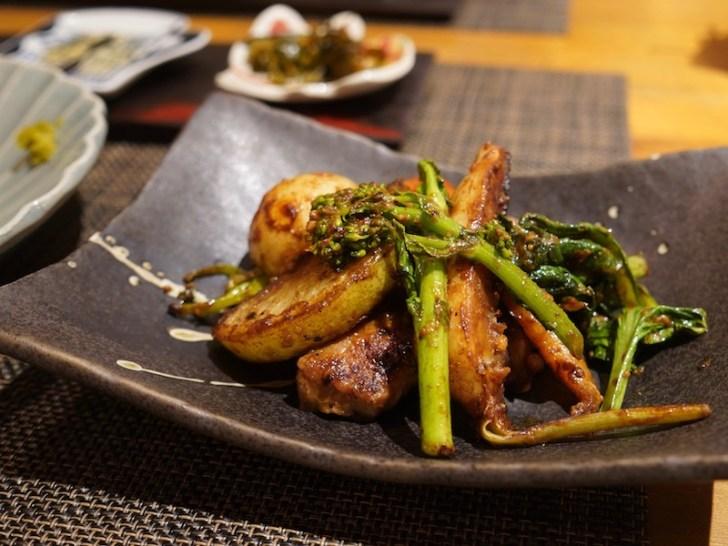 【豆や】豚肩ロースの味噌麹焼き