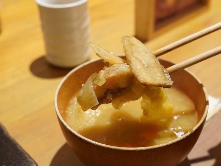 【豆や】味噌汁の具