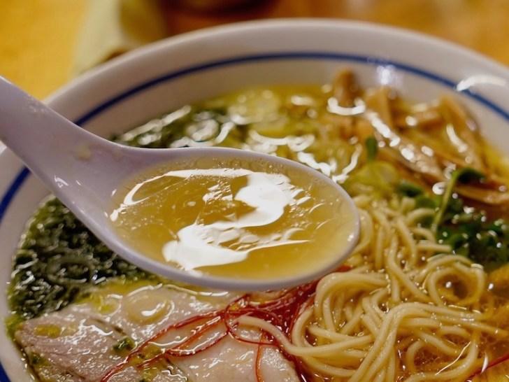 【中華蕎麦 みず川】ラーメンのスープ