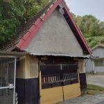 藤戸町で謎の三角屋根の建物を見つけたよ!