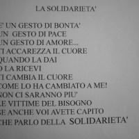 """""""IL CUORE NELLE MANI / PREMIO SOLIDARIETA' D.A. NICOLI"""": DICIOTTO POESIE DALLA SCUOLA """"SAFFI"""" DI PONTEDERA (PISA)... E LA GIURIA E' AL LAVORO..."""