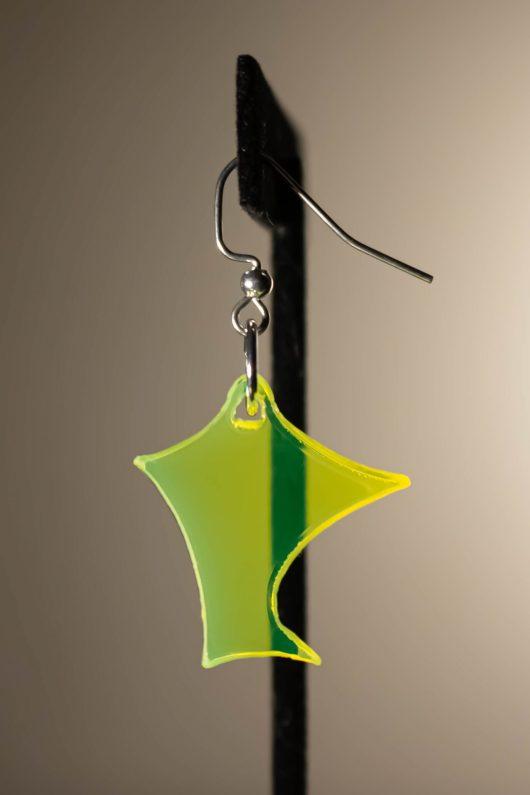 Yellow Dangle Earring