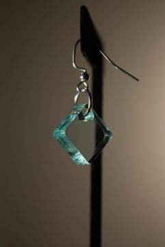 Glass Dangle Earring