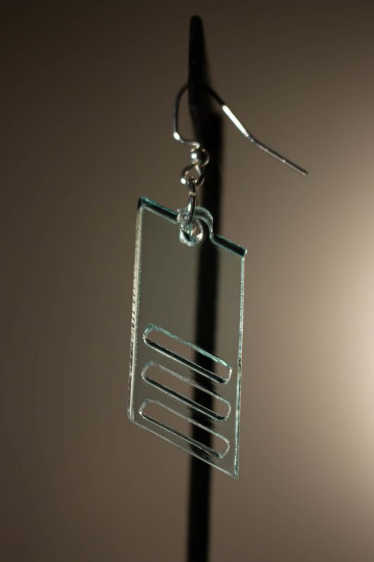 Parallelogram Dangle Earring