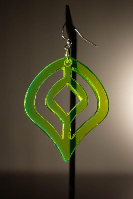 Geometric Dangle Earring