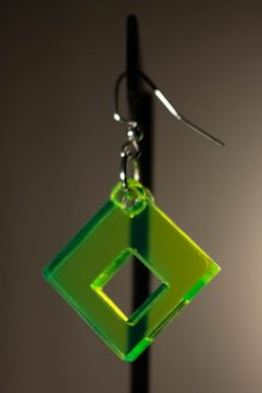 Squared Dangle Earring
