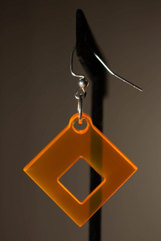 Squared Dangle Earring