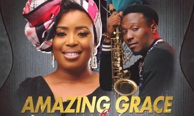 Amazing Grace - MoniQue Ft. Wale Sax